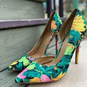 Just fab shoes / stiletto shoes / funky pumps